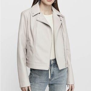 NWT Express Vegan Leather Jacket